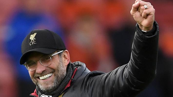 Liverpool manager Jurgen Klopp remains grounded despite his team heading to the top of the league standings.