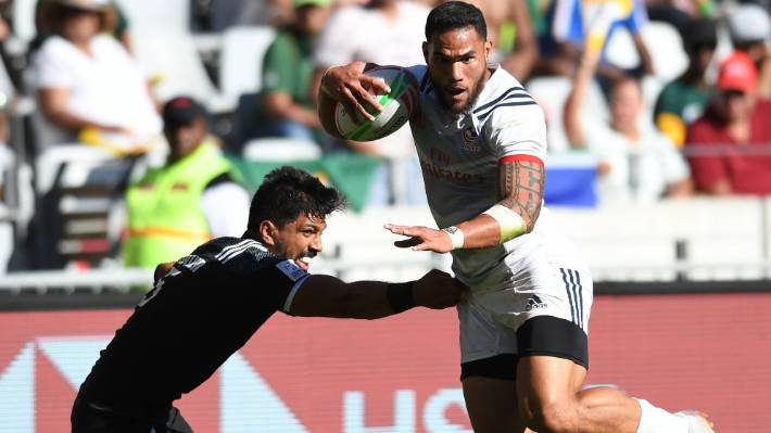 Usa S Martin Iosefo Proves Elusive For The New Zealanders In Semifinal Of Cape Town