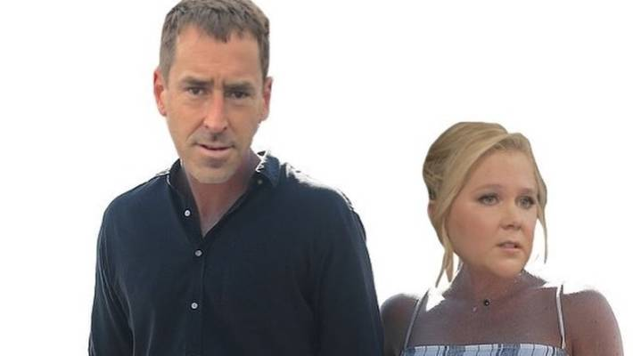 Image result for amy schumer heads on prince harry meghan