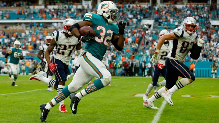 reputable site 035d4 035bb Miami Dolphins stun New England Patriots with 'miracle ...