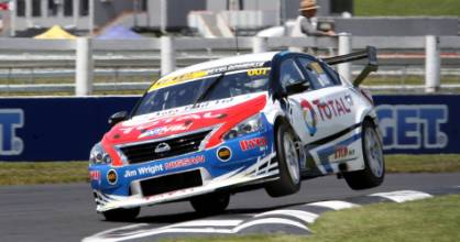 Nick Ross salvaged valuable points at Round Two of the BNT V8s at Pukekohe.