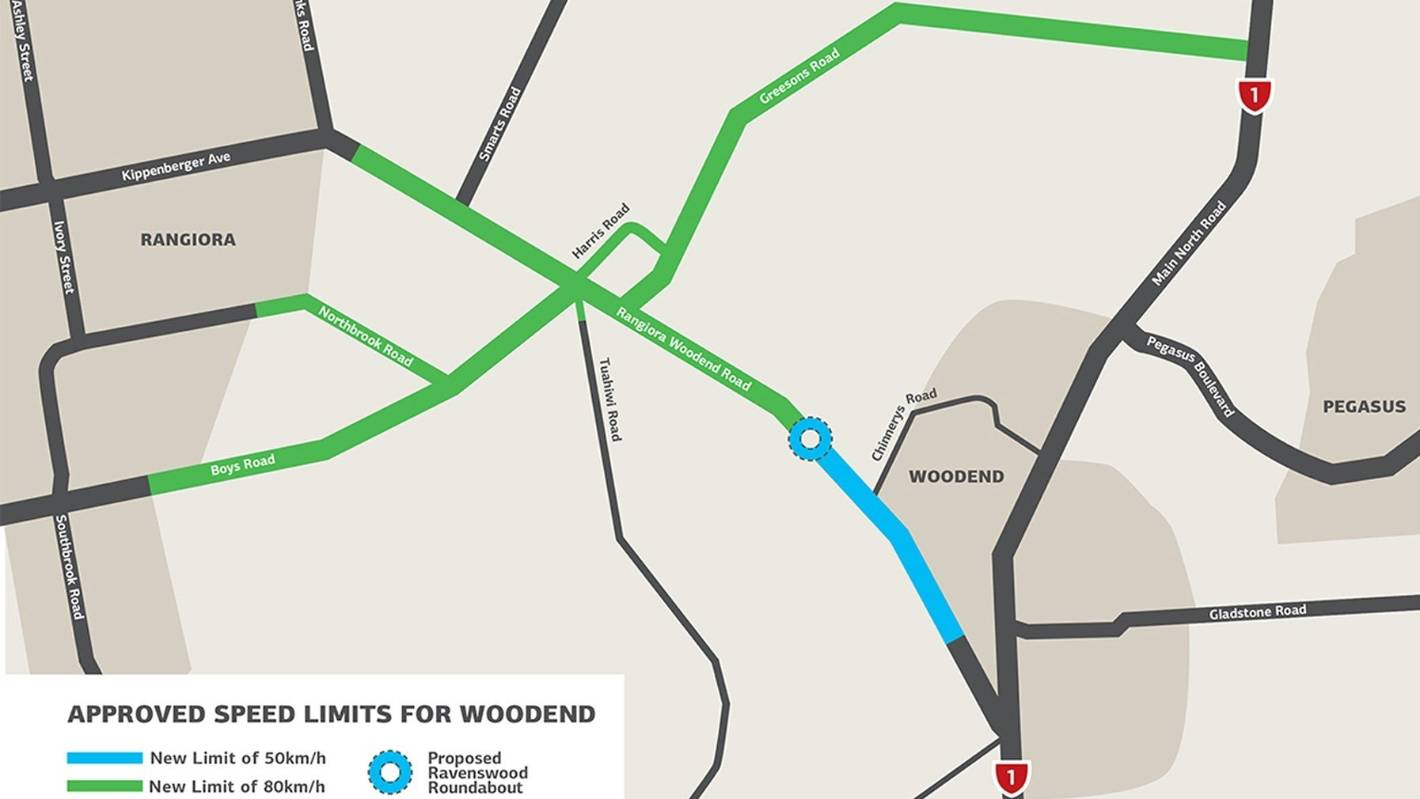 Growing population drives lower speed limits in Waimakariri