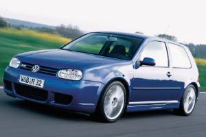 VW's Golf R32 of 2003 was the first production car to have DSG (albeit as an option).