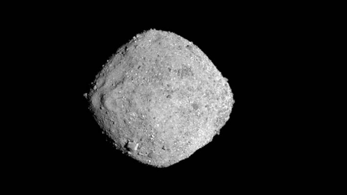 Water locked in asteroid Bennu, coming from larger rock