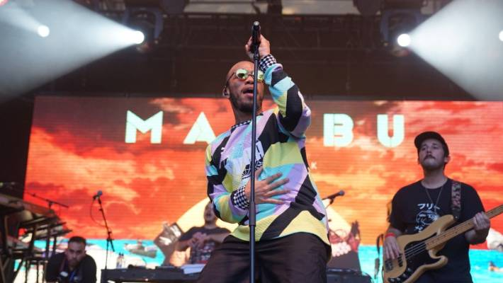 Anderson Paak performed at Auckland's Laneways Festival earlier this year.