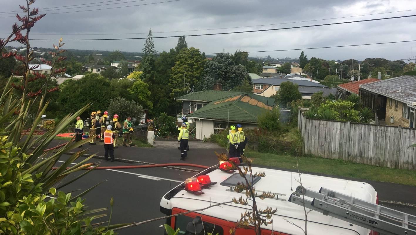 Occupants escape Hamilton house fire