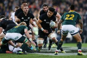 Ardie Savea was hugely influential for the All Blacks this year, either off the bench or in a starting role.