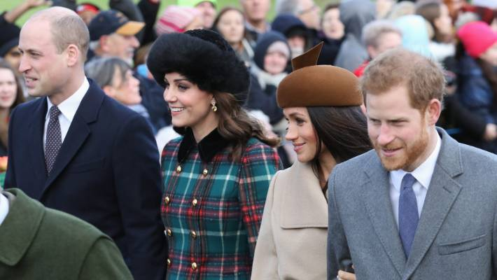 A lot has changed since the royals got together last Christmas