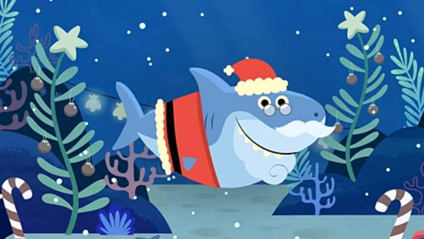 Move over, Baby Shark: The Santa Shark Christmas song has ...