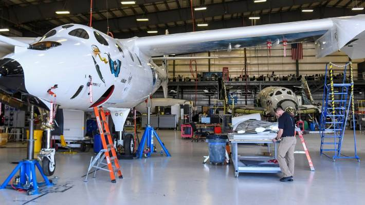 Virgin Galactic celebrates as tourism rocket ship reaches space