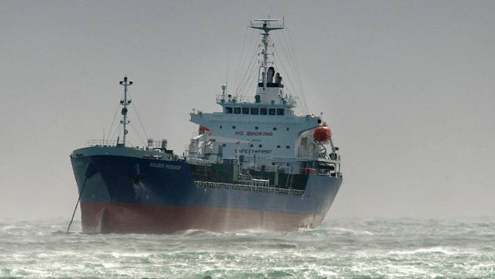 Captain of shipping tanker carrying tonnes of methanol found