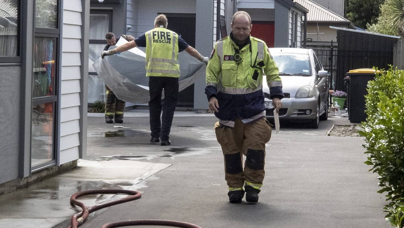 Man hospitalised after Chch house fire
