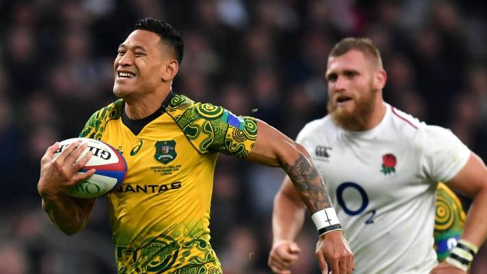 Rugby Australia and New South Wales to terminate Folau's contract