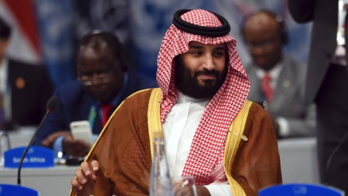 Saudi Crown Prince receives ceremonial welcome