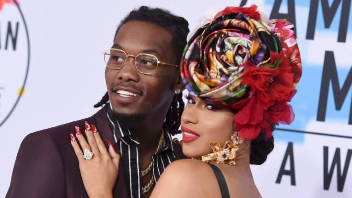 Offset Crashes Cardi B's Rolling Loud Set, Begs for Her Back