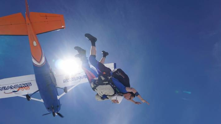 O''''Shea''''s jump was also designed to raise funds for research into motor neurone disease.