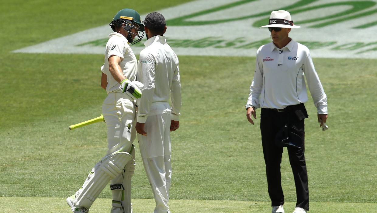 a579b9245f6 Tim Paine stirs up the heat with Virat Kohli with sledge questioning him as  a bloke