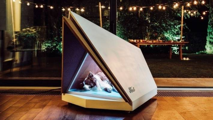 Ford's noise cancelling kennel offers quiet nights for panicked pooches