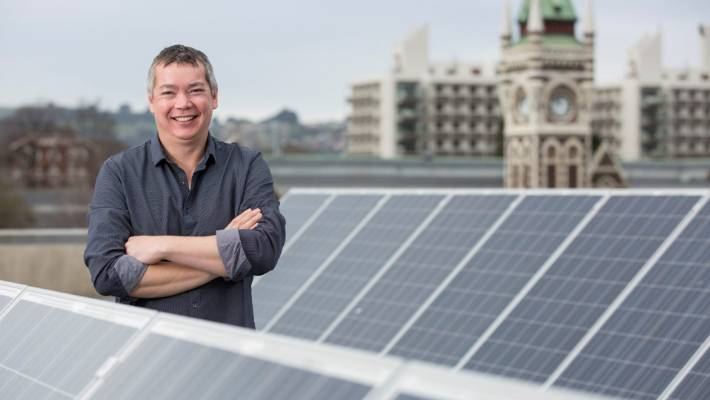 Otago University's Michael Jack was part of a team to come up with an audacious plan for New Zealand to reduce power.