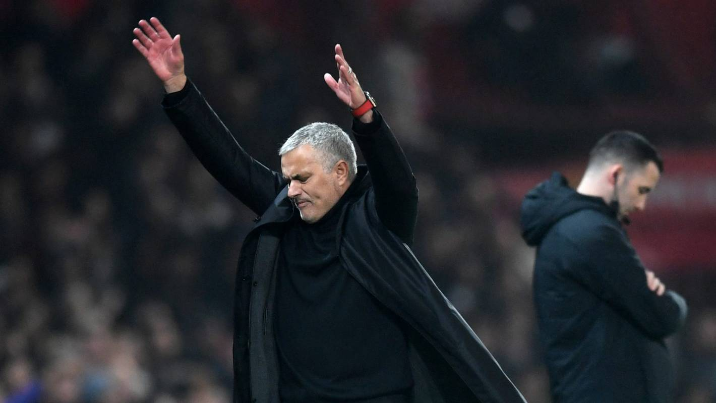 Manchester United manager Jose Mourinho sacked after dismal run