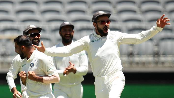 India lose second test against Australia at Perth by 146 runs