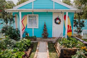 One factor that may be helping to drive interest in homes with vege gardens from first home buyers with a young family ...