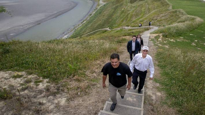 The story behind Palmerston North's steep stairway is