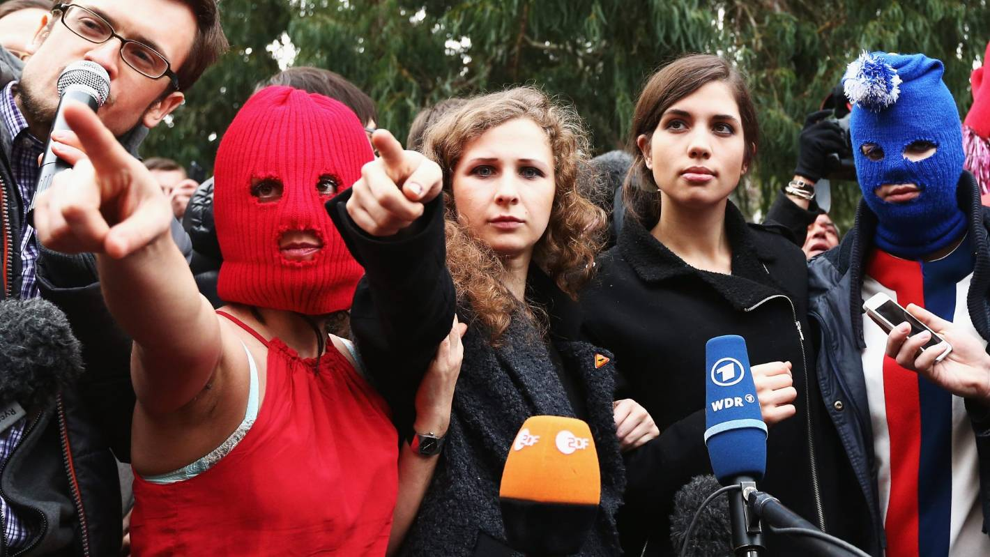 Pussy Riot are in Auckland. Here's what you need to know