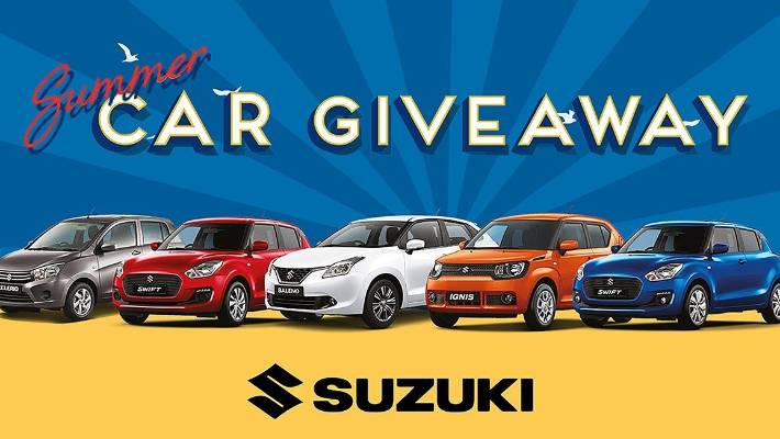 suzuki car giveaway