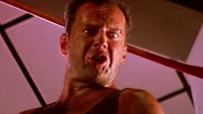 'Die Hard' trailer recut to look more like a Christmas film