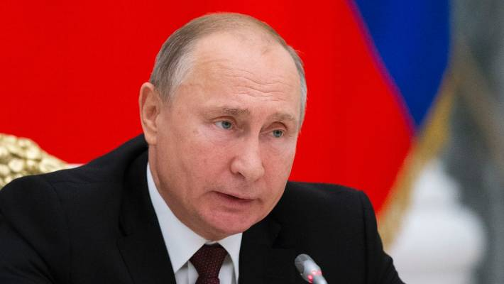 Putin Open To Other States Joining Russia-U.S. Nuclear Pact