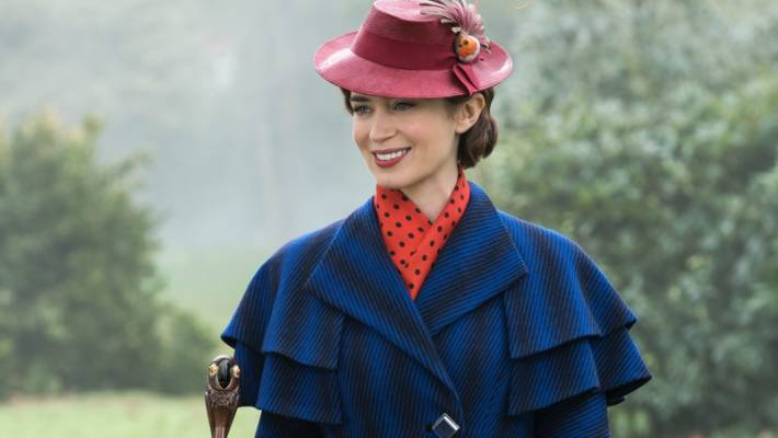 The picture for Emily Blunt Mary Poppins