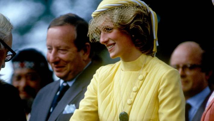 Diana, Princess of Wales, here in the picture in 1983, dies while followed by paparazzi.