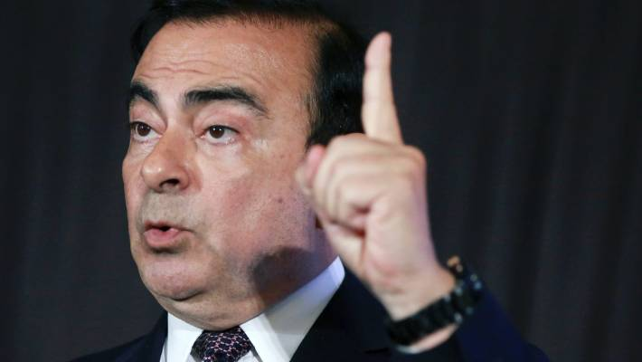 Nissan files criminal complaint against jailed ex-Chairman Ghosn