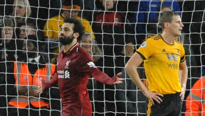 Nuno Espirito Santo says Wolves showed lack of focus in Liverpool loss