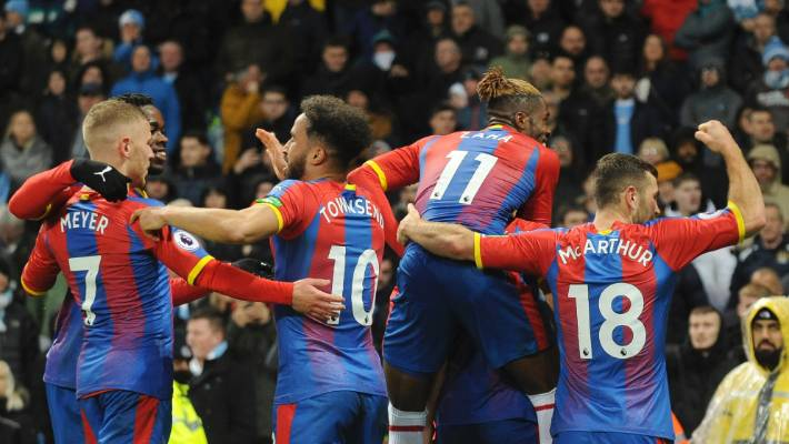 English Premier League Report: Manchester City v Crystal Palace 22