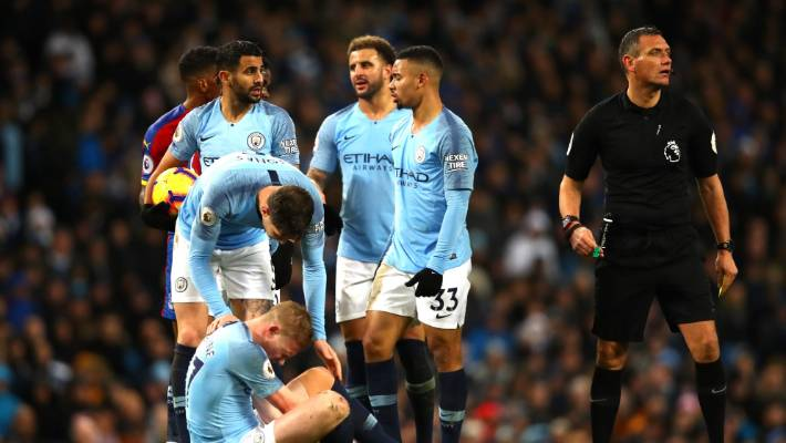 Manchester City lost at Etihad Stadium for the first time since April