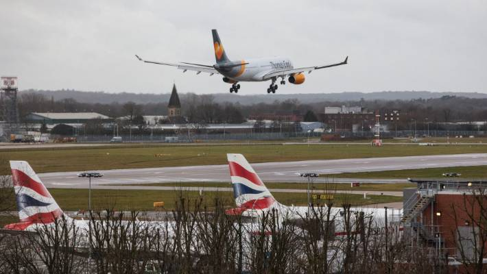 United Kingdom  ministers to discuss Gatwick drama as police examine damaged drone