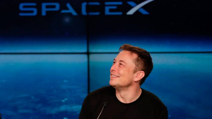 SpaceX founder Elon Musk.