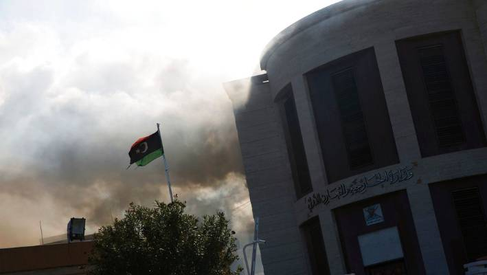 Militants attack Libya's Foreign Ministry, 3 killed