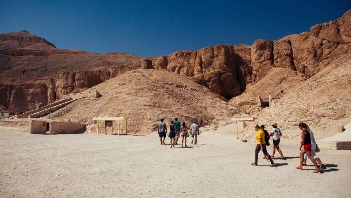 Egypt's tourism industry is showing encouraging signs of recovery after years in the doldrums