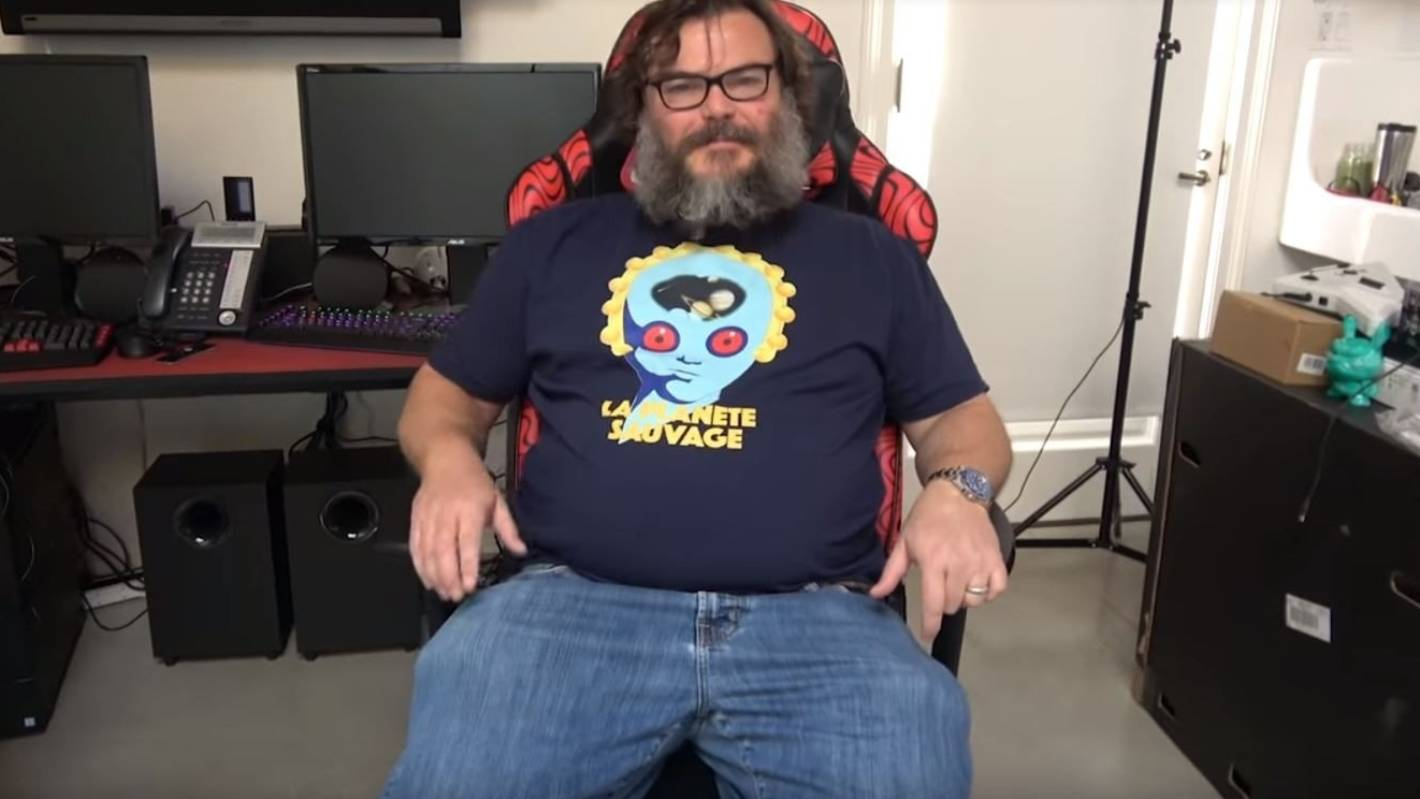 Jack Black Launches Youtube Gaming Channel Stuff Co Nz