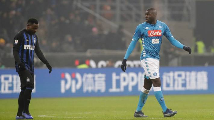 Cristiano Ronaldo shows support for Koulibaly after racist abuse