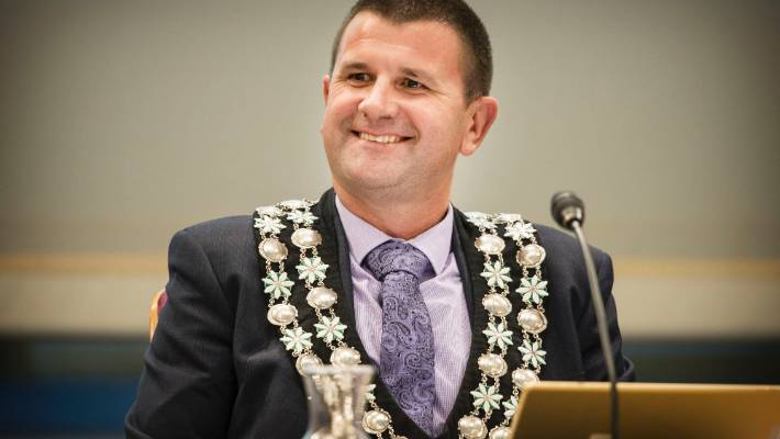 New Plymouth mayor Neil Holdom has censured councillor Murray Chong in the past for comments he called divisive.