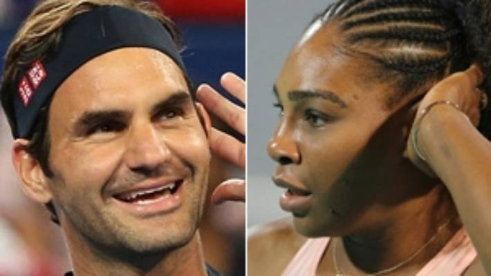Federer on winning team after facing Serena for 1st time