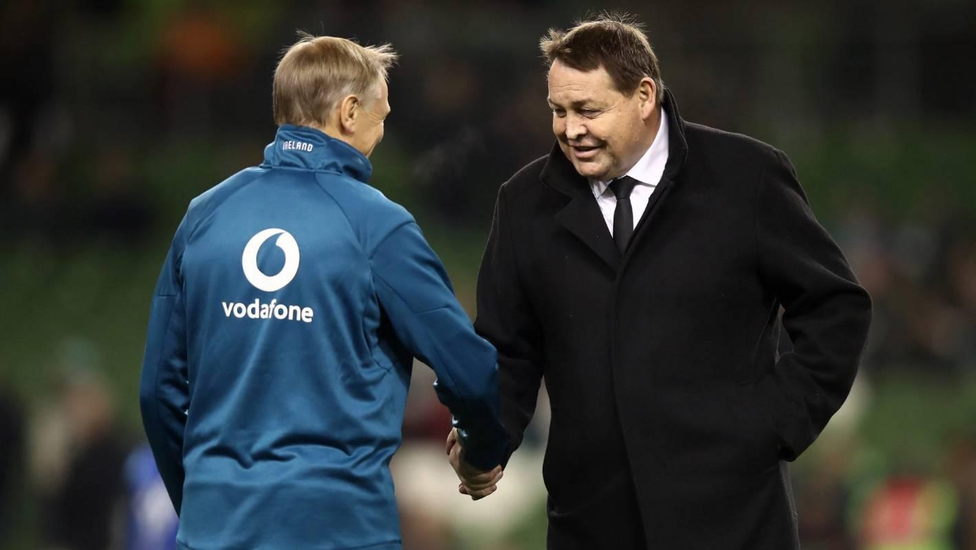All Blacks v Ireland: Steve Hansen warns Joe Schmidt: 'We might be able to set him up'