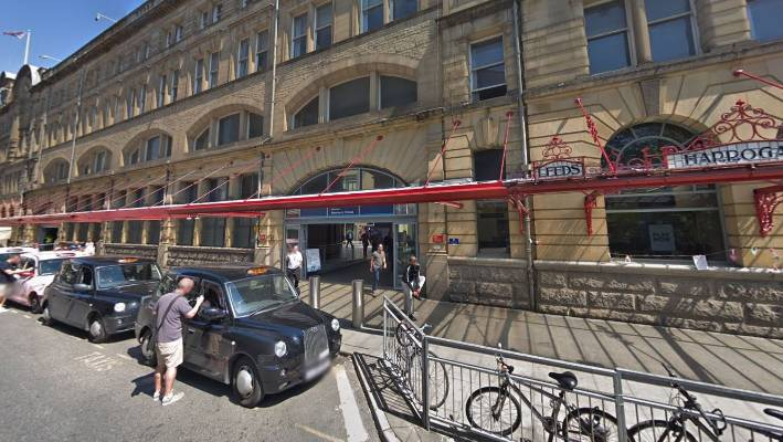 Three stabbed at Manchester Victoria station