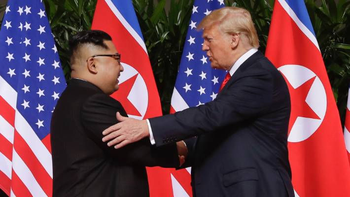 Kim warns Trump over nukes