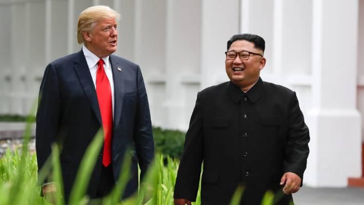 President Trump ready to end the Korean War, Biegun says