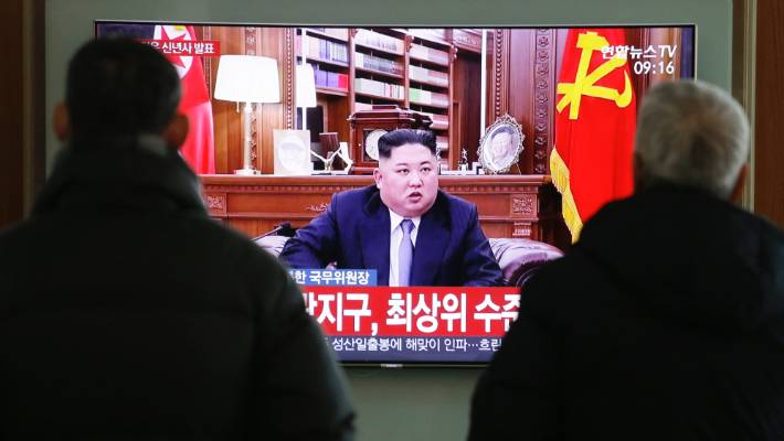 Kim Jong-un threatens return to nuclear standoff with US